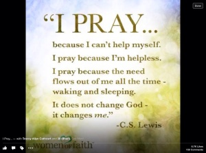 prayer change me