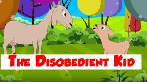 disobedient kid